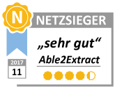 netzsieger badge