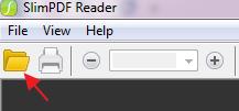opening a pdf