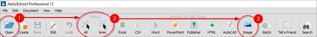 PDF to JPG, JPEG in 3 easy steps
