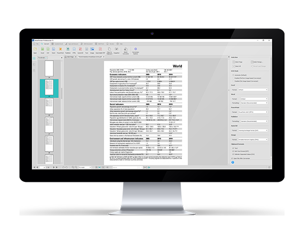 Able2Extract Professional PDF converter and editor