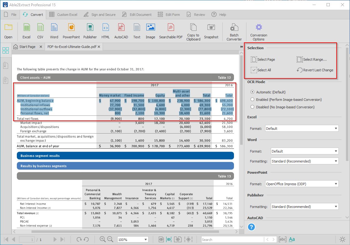 what is investment banking pdf to excel